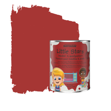 Rustoleum Little Stars Meubel- en speelgoedverf Roodkapje 750 ml