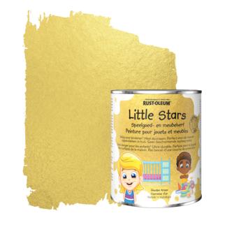 Rustoleum Little Stars Meubel- en speelgoedverf Gouden Kroon 750 ml metallic