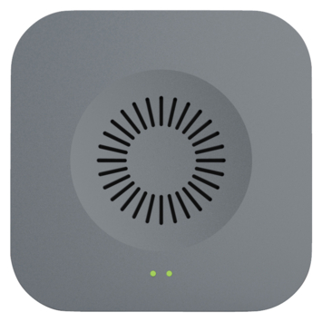 Qnect binnenbel voor wifi deurbel grijs
