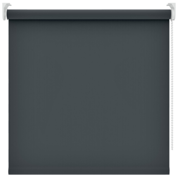 Rolgordijn uni verduisterend 5710 60x190 cm zwart