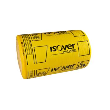 Isover Rollisol glaswol spijkerflensdeken 1000x45 cm dikte 12 cm 9 m² R=3 2 stuks
