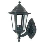 GAMMA wandlamp Ontario exclusief lamp E27 60W aluminium zwart-groen