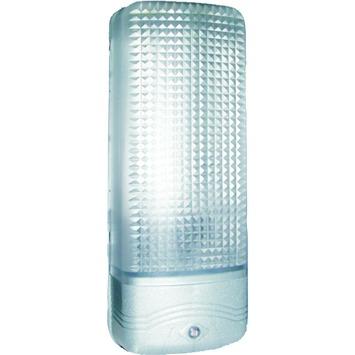 GAMMA buitenlamp Bielefeld zilver met dag/nacht sensor