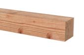 Poutre Douglas brut ± 250x6,5x6,5 cm