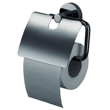 Haceka Kosmos wc rolhouder met klep inox