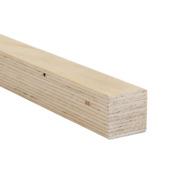 Bois de construction sapin placage lamellé-collé 39X39mm 240cm