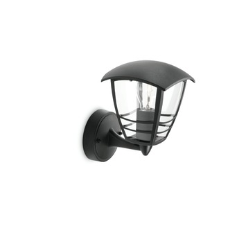 Philips Wandlamp MyGarden Creek Zwart 60W