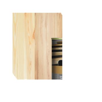 V33 trappenvernis anti-druip zijdeglans kleurloos 750 ml