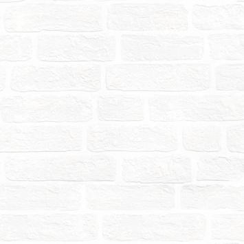 Overschilderbaar Vliesbehang extra breed Bakstenen 111918