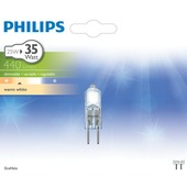 Philips ecohalogeen steeklamp GY6.35 405 lumen 25W = 35W