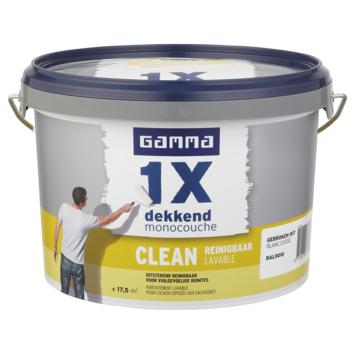 GAMMA 1x dekkend clean mat 2,5L RAL9010