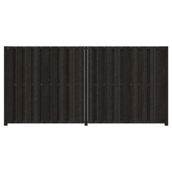 Schutting startpakket Tuinscherm Royal antraciet ± 3,8 meter lang