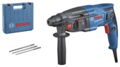 Bosch Professional boorhamer GBH 2-21 SDS-PLUS in koffer + 3 sds-plus boren