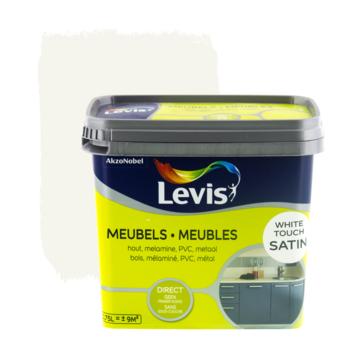 Levis opfrisverf meubels zijdeglans wit 750 ml