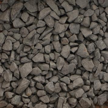 Split grind Basalt zwart 8-16 mm mini bigbag 500 kg