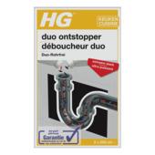 HG Déboucheur duo extra fort 2x500 ml