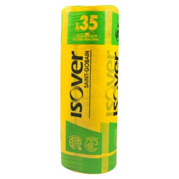 Isover Isoconfort 35 glaswolrol 16 cm 3,12 m² R=4,55 260x120 cm (enkel in de winkel te koop)