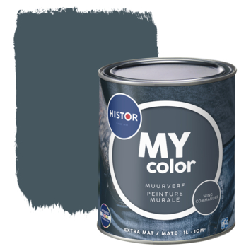 Histor MY Color muurverf extra mat wing commander 1 liter