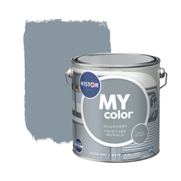 Histor MY Color muurverf extra mat coast of maine 2,5 liter