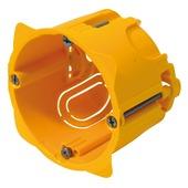 Legrand inbouwdoos holle wand enkelvoudig 50 mm geel
