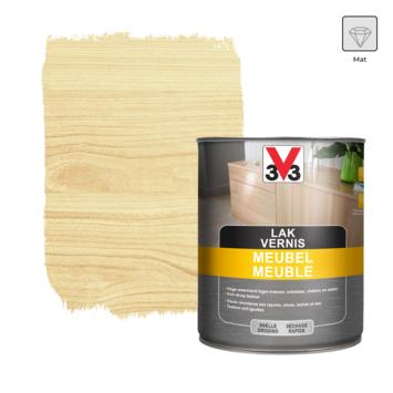 Vernis meuble V33 mat incolore 1 L