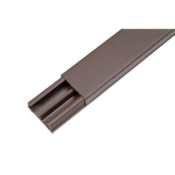 Moulure DLP Legrand brun 32x12,5 mm 210 cm