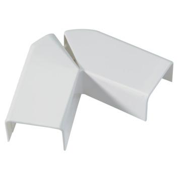 Legrand DLP platte hoek wit 32 x 12,5 mm