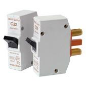 Disjoncteur à broches Vynckier Mini-Jump 1P 32 A 2 pces