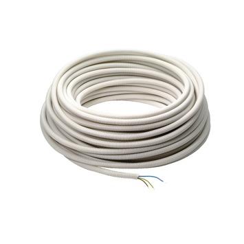 Profile voorbedrade buis wit 3g 1,5 mm², 25 m