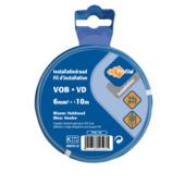 Câble Profile VOB bleu 6 mm² - long. 10 m