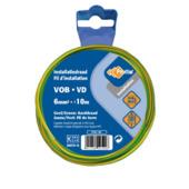Profile VOB-kabel geel-groen 6 mm² - lengte 10 m