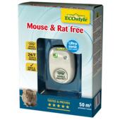 Ecostyle ultrasone rat- en muisbestrijder voor ruimte van 50 m²