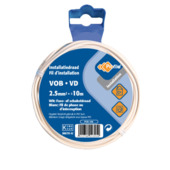 Profile VOB-kabel wit 2,5 mm² - lengte 10 m