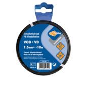 Profile VOB-kabel zwart 1,5 mm² - lengte 10 m