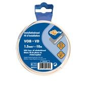 Profile VOB-kabel wit 1,5 mm² - lengte 10 m