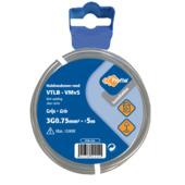 Profile VTLB-kabel grijs 3g 0,75 mm² - lengte 5 m