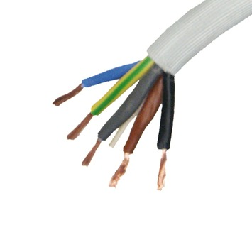 Profile VTMB 5G6mm² cable gris 3 m