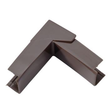 Legrand DLP variabele hoek bruin 20 x 12,5 mm