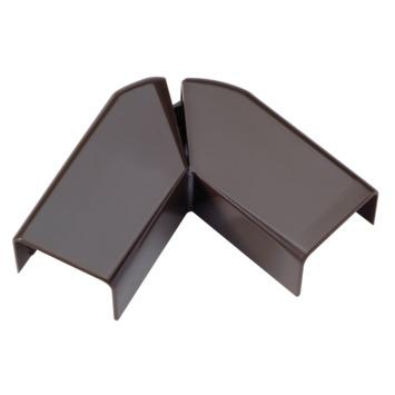 Legrand DLP platte hoek bruin 20 x 12,5 mm