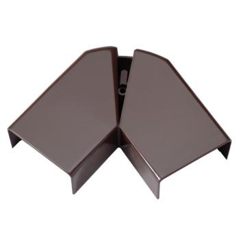 Legrand DLP platte hoek bruin 32 x 12,5 mm