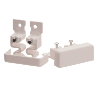 Legrand DLP einddeksel wit 20x12,5 mm 2 stuks