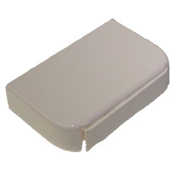 Legrand DLP einddeksel wit 80x35 mm