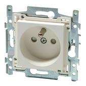 Niko stopcontact 2-polig met aarding 28,5 mm wit