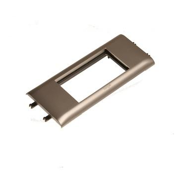 Legrand DLP Mosaic houder 4 modules aluminium