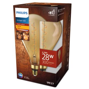 Philips LED Giant peer E27 25W filament goud niet dimbaar