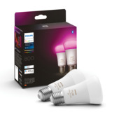 Philips Hue E27 9W white & color 2pack