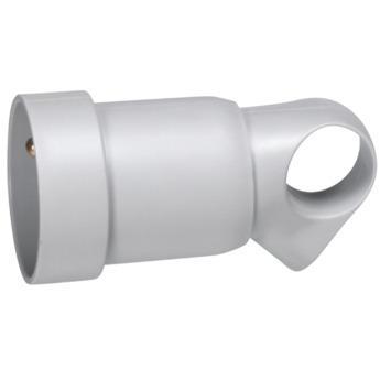 Legrand tegenstekker met oog 16 A grijs