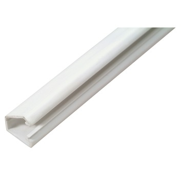 Moulure pour câble autocollant blanc 12 x 7 mm - long. 2 m