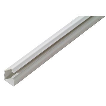 Goulotte DLP autocollante 10x10mm 2m blanc