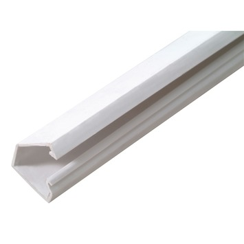 Moulure DLP autocollante Legrand blanc 15x10 mm 200 cm